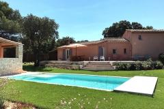 La-Villa-Aux-Buis : Villa depuis la Piscine