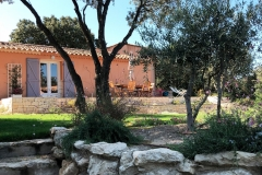 La-Villa-Aux-Buis : Terrasse depuis l'Olivier