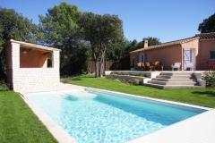 La-Villa-Aux-Buis : Jardin depuis les Caillebotis